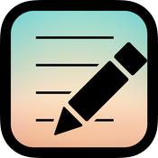 ロック画面メモアプリのアイコン