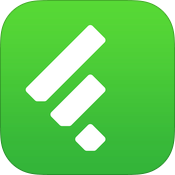 Feedlyアプリのアイコン