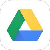 Googleドライブアプリのアイコン