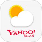 Yahoo天気アプリのアイコンの右上の数字は何?設定方法を解説