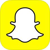 Snapchatアプリのアイコン