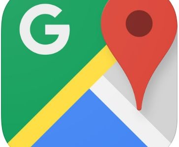 Googleマップアプリの航空写真と3D立体表示への切り替え・解除方法!