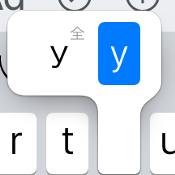 iPhoneで全角・半角英数字記号を切り替えて入力する方法
