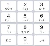 記号のコロン(:)、ハイフン( – )の入力方法【iPhone、Androidスマホ】